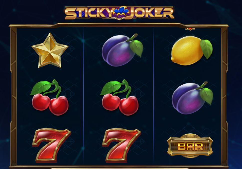 Sticky Joker kolikkopeli