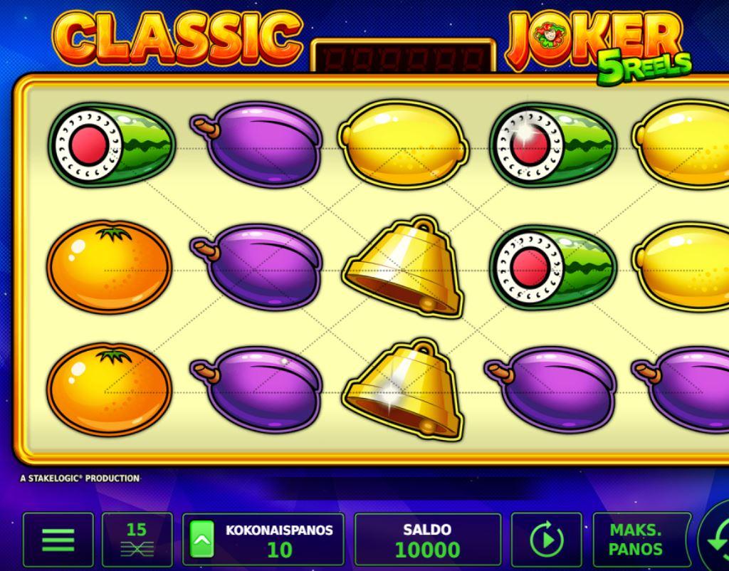 Classic Joker 5 Reels kolikkopeli